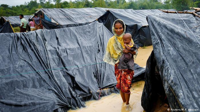 Rohingyas im Flüchtlingslager Cox's Bazar; Foto: Reuters/M.P. Hossain