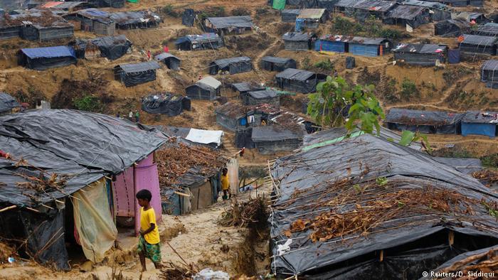 Rohingyas im Flüchtlingslager Cox's Bazar; Foto: Reuters/D. Siddiqui