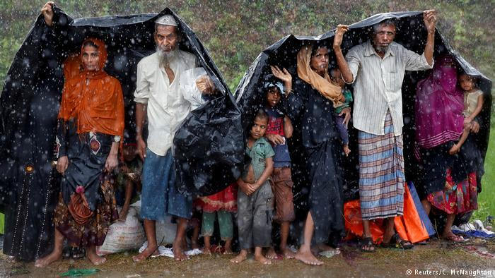 Rohingyas im Flüchtlingslager Cox's Bazar; Foto: Reuters/C. McNaughton
