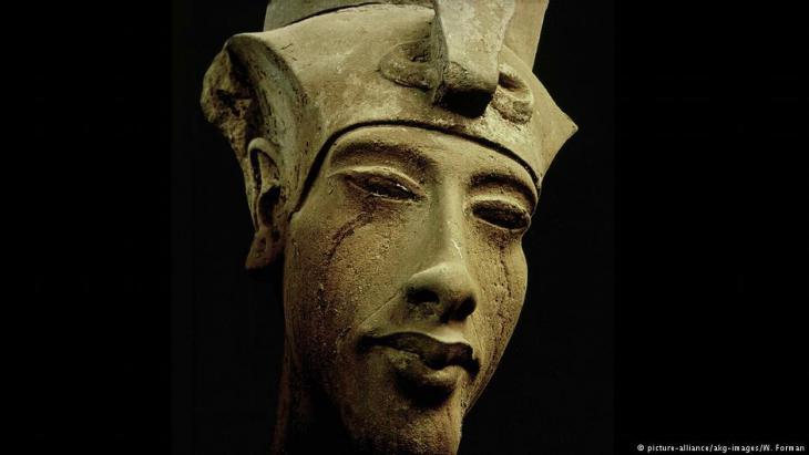 Altägyptischer König Echnaton; Foto: picture-alliance/akg-images/W.Forman