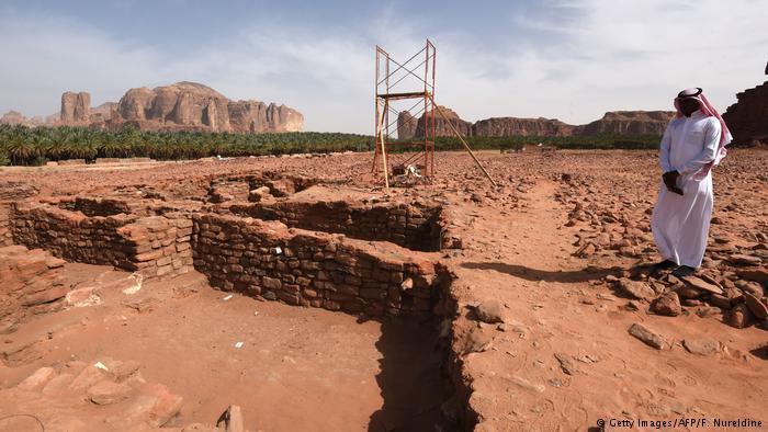 Bildergalerie Oase Al-Ula in Saudi-Arabien; Foto: Fayez Nureldine/AFP/Getty Images