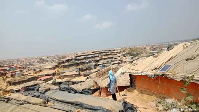 Bangladeschs Flüchtlingslager Kutuopalong; Foto: Zahirul Islam Shimul