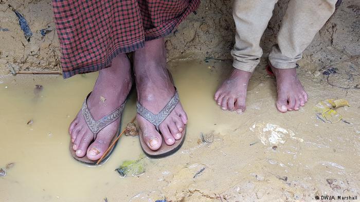 Bangladesch: Flüchtlingslager Kutuopalong; Foto: DW/A. Marshall