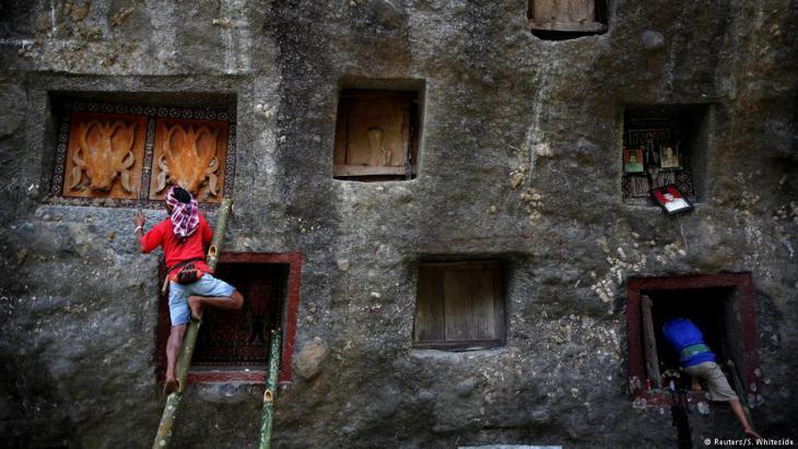Einwohner von Tana Toraja; Foto: Darren Whiteside/Reuters