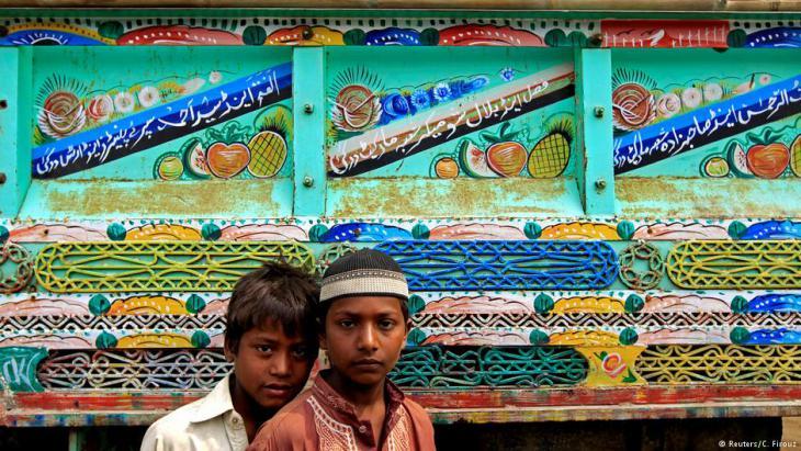 """Keep on trucking"": Art on the move in Pakistan; Foto: Caren Firouz/Reuters"