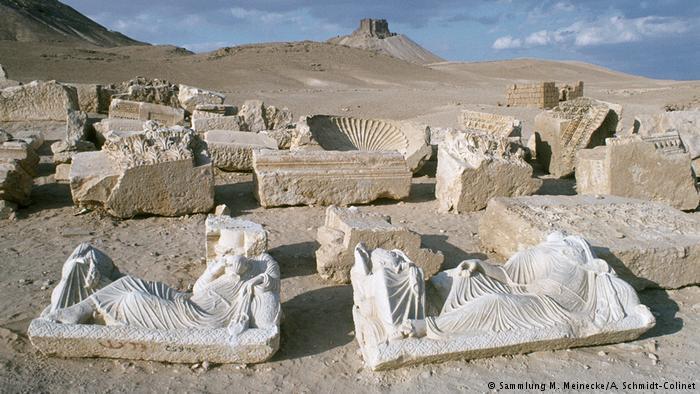 Die Ausgrabungen in der antiken Oasenstadt Palmyra gehören zum UNESCO-Weltkulturerbe. Foto: Sammlung M. Meinke/A. Schmidt Colinet
