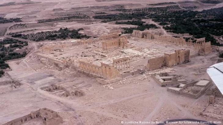 Der 2000 Jahre alte Tempel des Gottes Baal. Foto: Staatliches museum zu Berlin, Museum für islamische Kunst/ E.Wirth