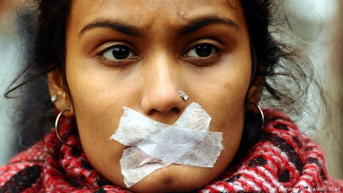 Proteste gegen neues Staatsangehörigkeitsgesetz in Indien; Foto: picture-alliance