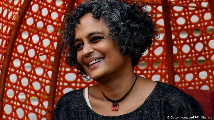 Die indische Schriftstellerin Arundhati Roy; Foto: AFP/Getty Images