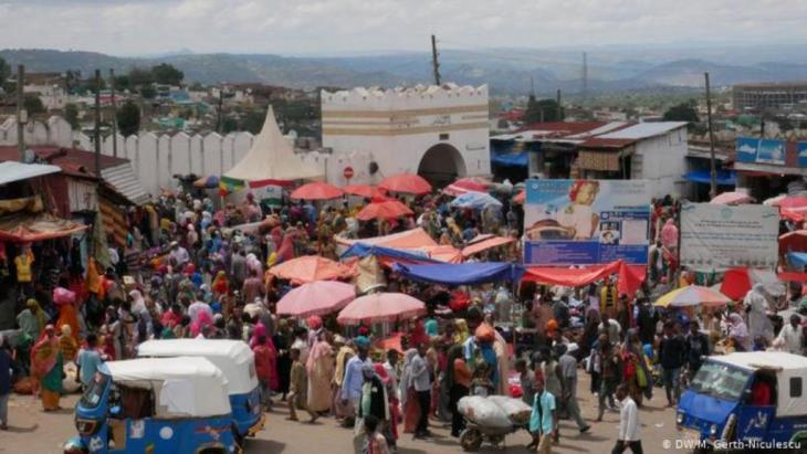 Äthiopien Alltag in Harar (DW/M. Gerth-Niculescu)