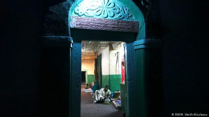 Eingang zum Grab von Scheich Abadir, einem Gründungsvater von Harar. (DW/M. Gerth-Niculescu)