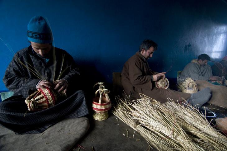 Viele Dorfbewohner machen kangdi zu Hause. Foto: Sugato Mukherjee