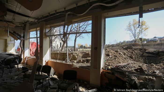 Stadt Schuscha. Foto: Vahram Baghdasaryan/Photolure/Reuters