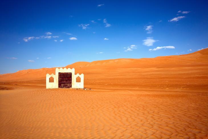 Die Region Wahiba Sands, oder Ramlat al-Wahiba, eine 3-stündige Fahrt von Muscat entfernt. Foto: Pascal Mannaerts