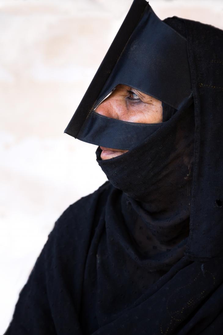 Latefa ist Beduinin. Foto: Pascal Mannaerts