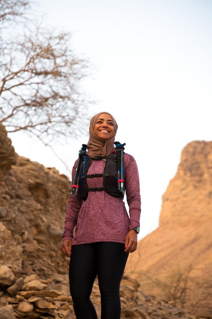 Nadhirah Al Harthy. Foto: Pascal Mannaerts