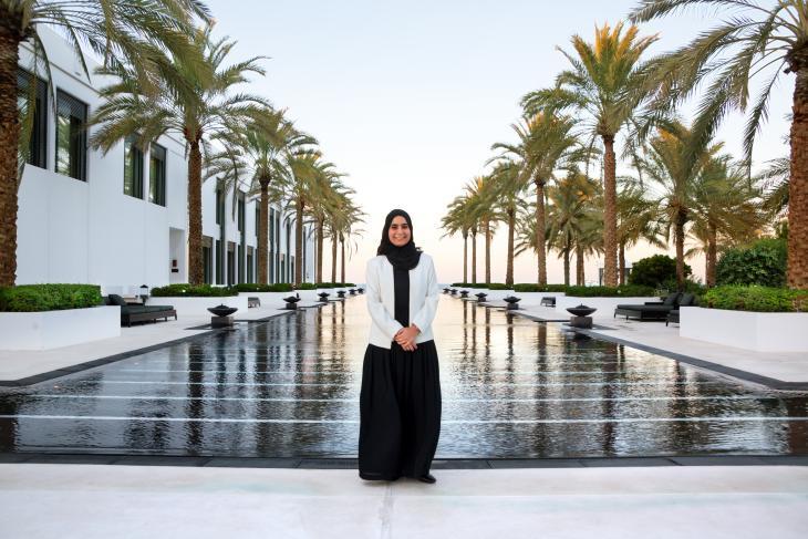 Muneera Al Habsi. Foto: Pascal Mannaerts