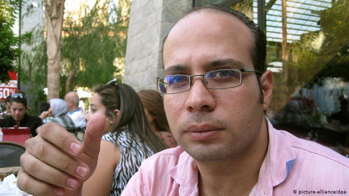 Ahmed Maher, ägyptischer Menschenrechtsaktivist