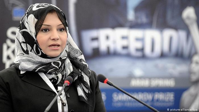 Asmaa Mahfouz, ägyptische Menschenrechtsaktivistin
