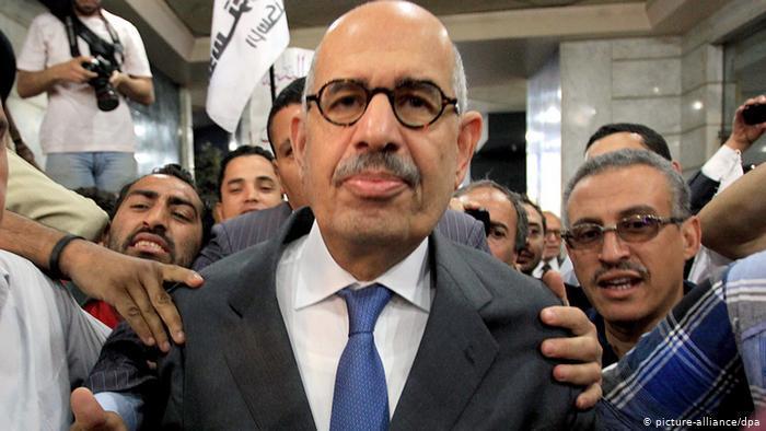 Mohamed El Baradei, ägyptischer Politiker und Diplomat