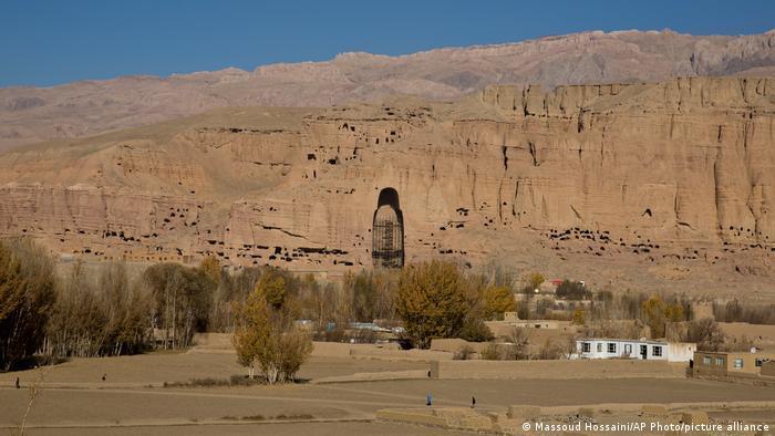 Afghanistan Bamiyan | Gesprengte Buddha-Statuen