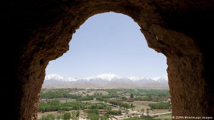 Zerstörung Buddha-Statuen in Bamiyan | Aussicht aus einem der alten Buddha Standplätze