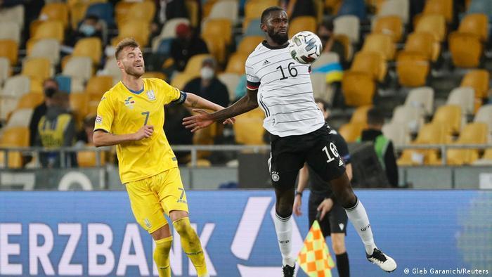 UEFA Nations League   Ukraine vs. Deutschland   1. Tor Deutschland