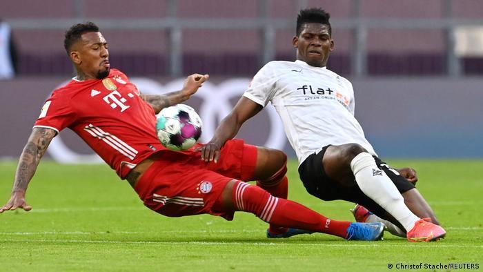 Fußball Bundesliga   FC Bayern München vs. Borussia Mönchengladbach