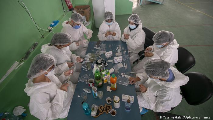 Tunesien Coronavirus-Infektionen steigen rasant; Foto: Yassine Gaidi/AApicture-alliance