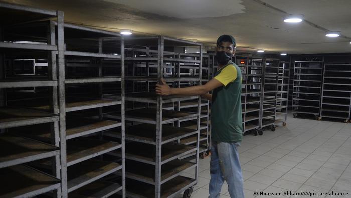 Bäckerei ohne Brot in Libanon