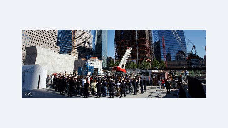 Memorial Service am Ground Zero; Foto: AP