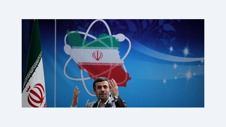 Mahmud Ahmadinedschad; Foto: Parspix/DW