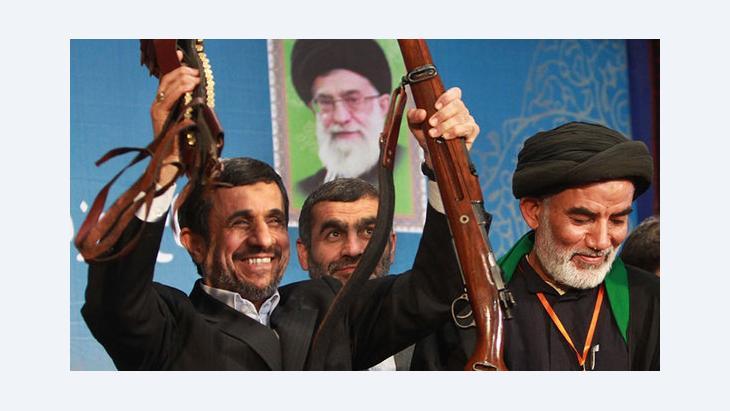 Mahmud Ahmadinedschad; Foto: Irna