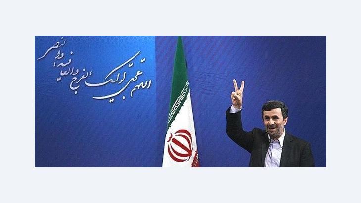 Mahmud Ahmadinedschad; Foto: Mehr