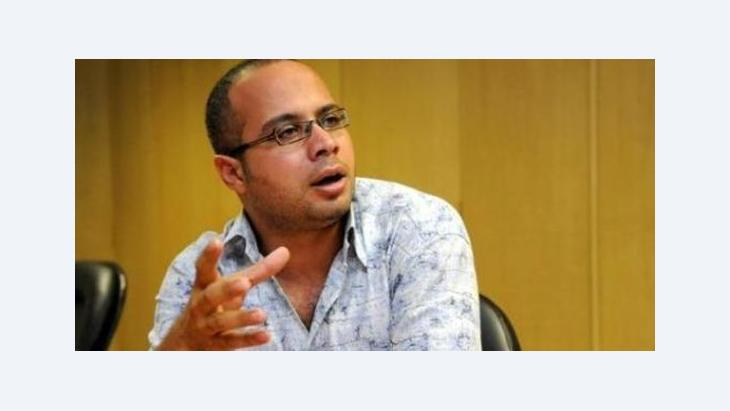 Ahmed Maher von der Jugendbewegung 6. April; Foto: © Al-Muftah