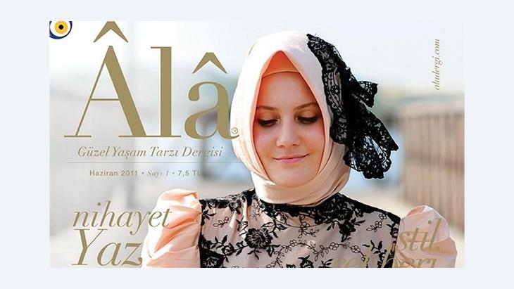 Cover der ersten Ausgabe der Zeitschrift Ala