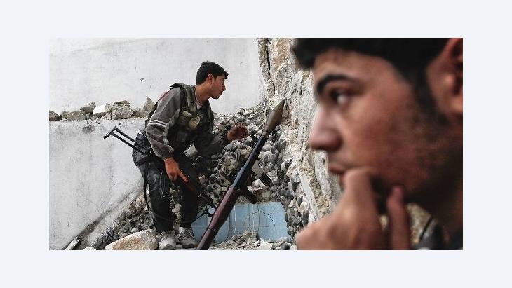 Rebellen in Aleppo; Foto: AFP/Getty Images
