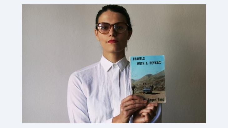 Anahita Razmi: The Paykan Project, 2010/11, Auto, 38 Schriftdokumente, 11-stündiger Videoloop; Foto: © Anahita Razmi
