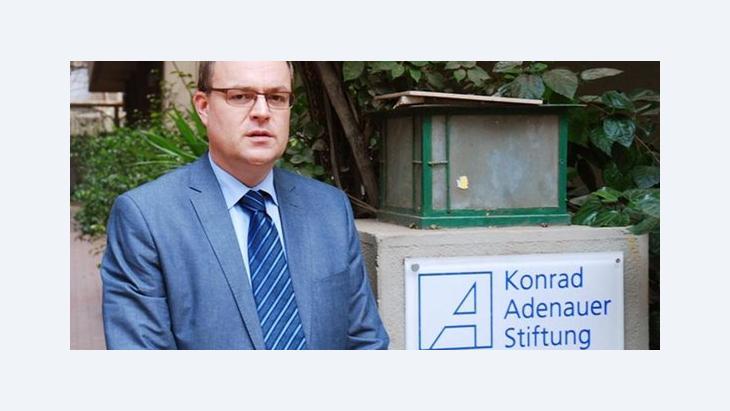 Andreas Jacobs, ehemaliger Leiter der Konrad-Adenauer-Stiftung in Kairo; Foto: dpa/picture-alliance