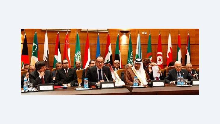 Treffen der Arabischen Liga in der marokkanischen Hauptstadt Rabat; Foto: AP/dapd