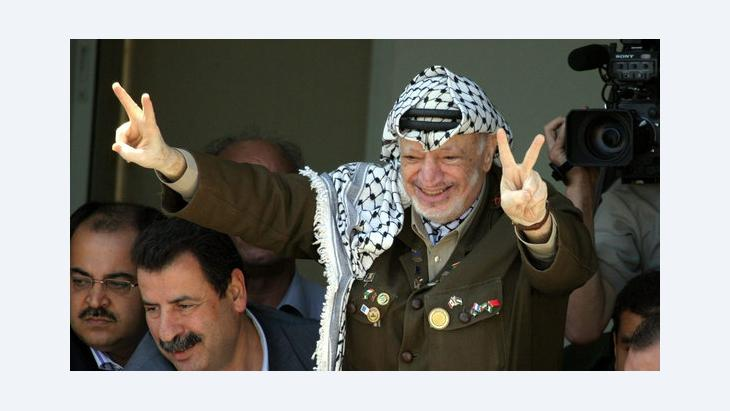 Jassir Arafat, September 2003; Foto: EPA/Atef Safadi