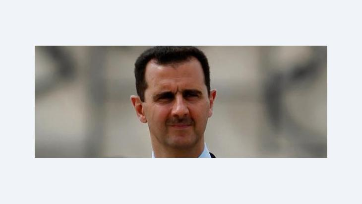 Syriens Präsident Bashar al-Assad; Foto: AP