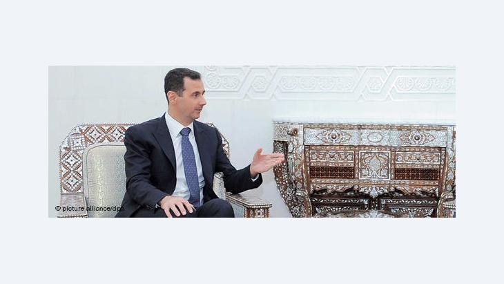 Syriens Präsident Assad erlässt neues Parteiengesetz; Foto: picture alliance