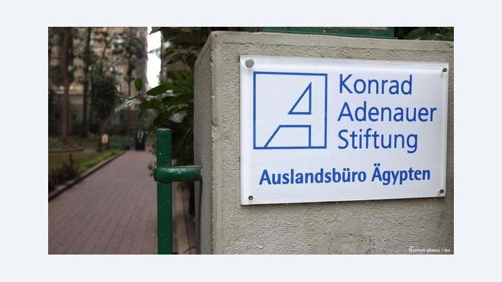 Büro der Konrad-Adenauer-Stiftung in Kairo; Foto: dpa/picture-alliance