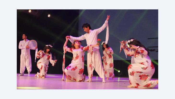 Tanzveranstaltung Bagdad, Kulturhauptstadt der arabischen Welt; Foto: DW/ Alshimary