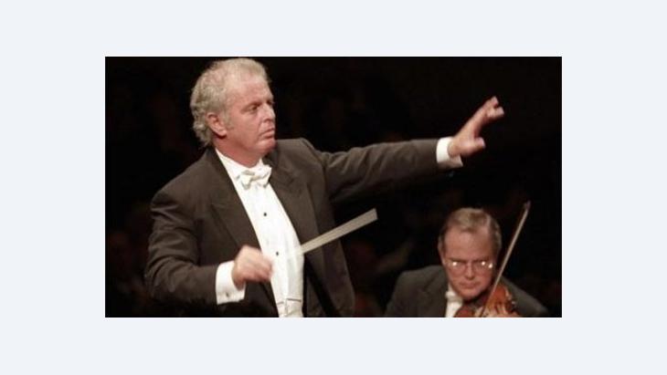 Stardirigent Daniel Barenboim; Foto: AP