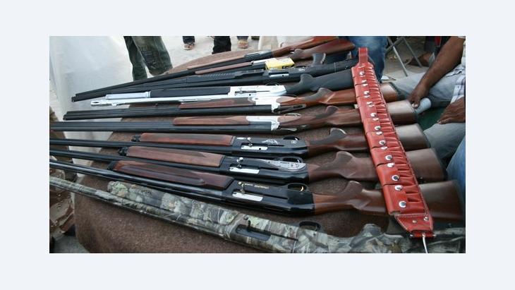 Waffenmarkt in Bengasi; Foto: Markus Symank