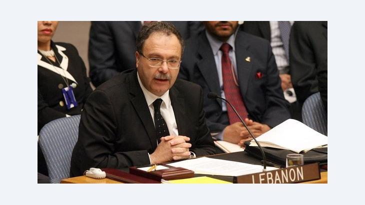 Libanesischer Informationsminister Tarek Mitri; Foto: AP