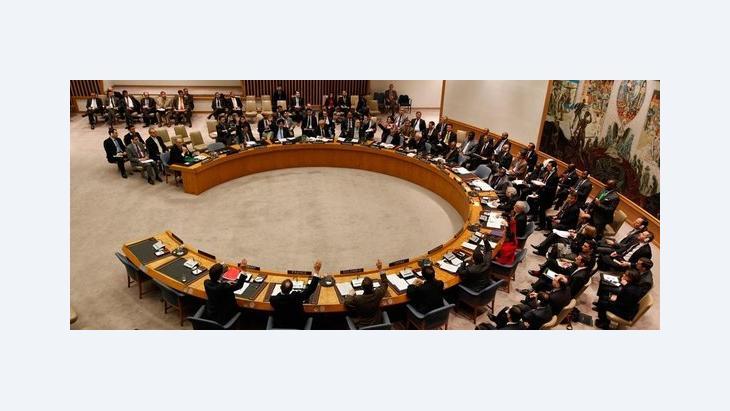 Tagung des UNO-Sicherheitsrats am 04.02.2012; Foto: AP