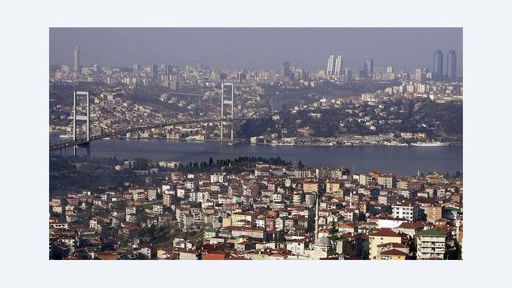 Blick auf Istanbul; Foto: dpa/picture-alliance